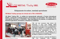 CM Metal Trading aproape de clientii sai la TIB si INDAGRA