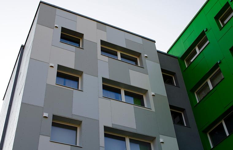 Fatada ventilata acoperita cu placi pentru exterior StoneREX