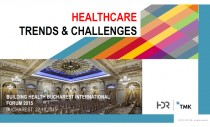 "Arhitectura medicala si noile tehnologii - ""Healthcare Trends & Challenges"""
