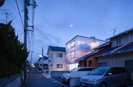 O casa cu anvelopanta translucida ce straluceste in intuneric
