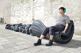 Să transformăm deșeurile plastice în mobilier urban! Și să aflăm cum de la olandezi