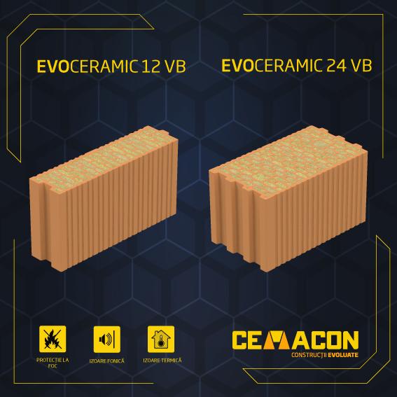 Cărămizile Evoceramic pentru confortul termic și acustic al casei