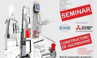 """CONSTRUCTORII DE ASCENSOARE - concept, personalizare, tehnologie"""" - un nou seminar marca Elmas"