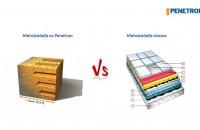 Penetron vs. hidroizolatia clasica Din Sistemul Penetron fac parte materiale speciale de hidroizolare - impermeabilizare pe baza de cristale active, fiind solutii durabile cu proba timpului de