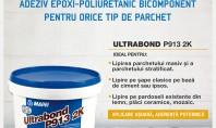 Ultrabond P913 2K de la Mapei - adeziv epoxi-poliuretanic bicomponent pentru pardoseli din lemn