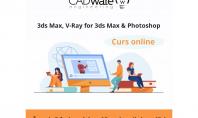 Curs online de modelare 3d și randare Autodesk 3ds Max este o soluție completă de modelare
