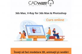 Curs online de modelare 3d și randare