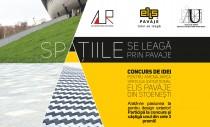"""""""Spatiile se leaga prin pavaje"""" - concurs de amenjare exterioara pentru studenti si arhitecti"""