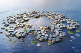 Orașul plutitor autonom cu 10 000 locuitori propus de ONU și de arhitecți de renume pentru
