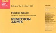 Penetron aditiv pentru beton castiga Innovation Award Italia PENETRON ADMIX aditiv pentru beton a fost expus