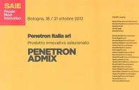 Penetron, aditiv pentru beton, castiga Innovation Award Italia