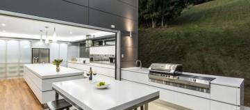 7 idei pentru bucătăriile de vară din gradină