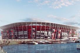 Primul stadion pentru Campionatul Mondial de Fotbal construit din containere pentru transport