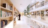 Castigatorul Leaf Awards 2014 cu proiectul Bibliotecii din Gourdon la GIS Bucuresti Cédric Ramière Architect associate