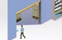 MAGIC SWITCH - solutia contactless alternativa pentru butoanele de deschidere, contactor cu sfoara si alti activatori manuali MAGIC SWITCH este solutia contactless alternativa pentru butoanele de deschidere, contactor cu sfoara si alti activatori manuali; are un radar care permite deschiderea usii fara un contact fizic.