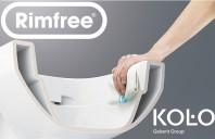 Inovatie in design de la KOLO - vasul WC Rimfree