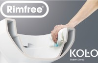 Inovatie in design de la KOLO - vasul WC Rimfree