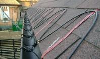 Degivrarea sau cum sa elimini zapada si gheata Cablurile electrice utilizate pentru degivrare se utilizeaza pentru