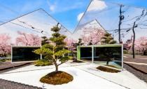 Oglinzi folosite sa reflecte vegetatia exterioara