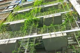 Un hotel invaluit in peste 800 de varietati de plante