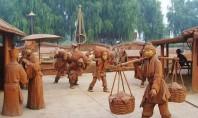 Un sat intreg realizat din ceramica! In China a fost creat un parc cultural realizat in