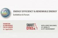 Solutii pentru economisirea energiei in mediul urban in cadrul evenimentelor EE & RE si Smart Cities