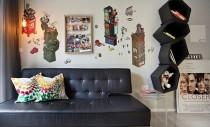 Un apartament compact in Singapore