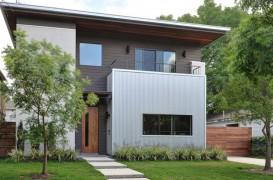 Eficiență spatială pentru o casă amplasată pe un lot îngust