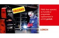 Promotie la echipamentele pentru sudare semi-automata Lorch MicorMIG Heavy-Duty!