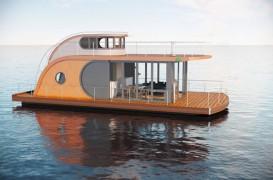 Trendul merge mai departe - case micro plutitoare
