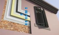 Sistem de izolare termică pentru fațadele construcțiilor cu zidărie din cărămidă