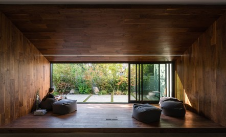Descoperă cum a fost renovată o casă de lectură în stil japonez
