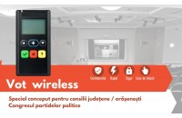 Ce beneficii aduce într-un consiliu un sistem de votare electronic wireless?
