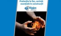 Siguranta in caz de incendiu o preocupare constanta a companiei Saint-Gobain Rigips Romania Saint-Gobain Construction Products