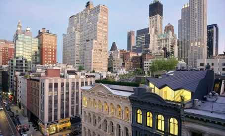 Apartamente moderne intr-o veche cladire din New York