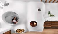 O amenajare plină de creativitate pentru casa unui artist In aproape tot ceea ce creeaza Clarina