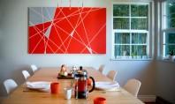 Arta moderna prin bricolaj Un tablou reprezentativ pentru arta moderna poate cu siguranta fi o achizitie