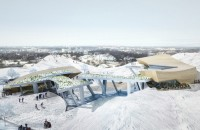 Daniel Libeskind propune un centru de agrement in Lituania