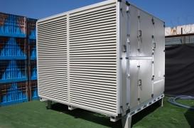 Mașina care extrage apa din aer este folosită în scopuri umanitare