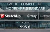 Ofertă specială SketchUp și V-Ray for SketchUp