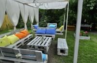 Paletii de lemn sau noul mobilier de gradina