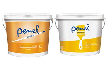Dinamic 92 lanseaza Penel - brandul propriu de vopsea lavabila