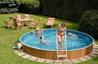 Piscinele supraterane - o soluție practică și mai economică pentru zilele călduroase