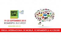 O editie speciala BIFE - SIM Accesoria Echipamente ofera premiul cel mare Anul acesta, in perioada 19-23 septembrie, vom fi prezenti la BIFE-SIM cu Divizia Echipamente, in standurile 16-17, Pavilionul Central.