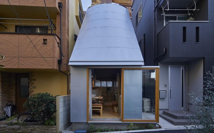 Căsuța pe care și-a construit-o un arhitect japonez, inspirată de vilele romane