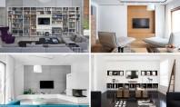 Idei pentru designul zonei TV din living Va prezentam sapte ide prin care puteti sa puneti