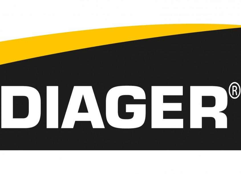 Burghie pentru beton, bolțari sau cărămidă şi sistem de aspirație a prafului de la Diager