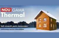 FKD-N Thermal2 - vata minerala pentru termosistem, cu performante termice imbunatatite!