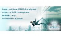 Cursuri certificate ROFMA de workplace property și facility management - 20 noiembrie 2019 București Participanții la
