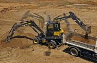 Utilajul Volvo EW60E este alegerea potrivită pentru operaţiuni productive